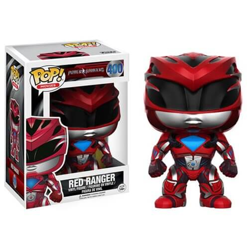 Power Rangers Movie Red Ranger Pop! Vinyl Figure