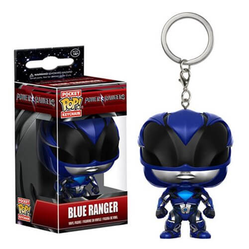Power Rangers Movie Blue Ranger Pocket Pop! Key Chain