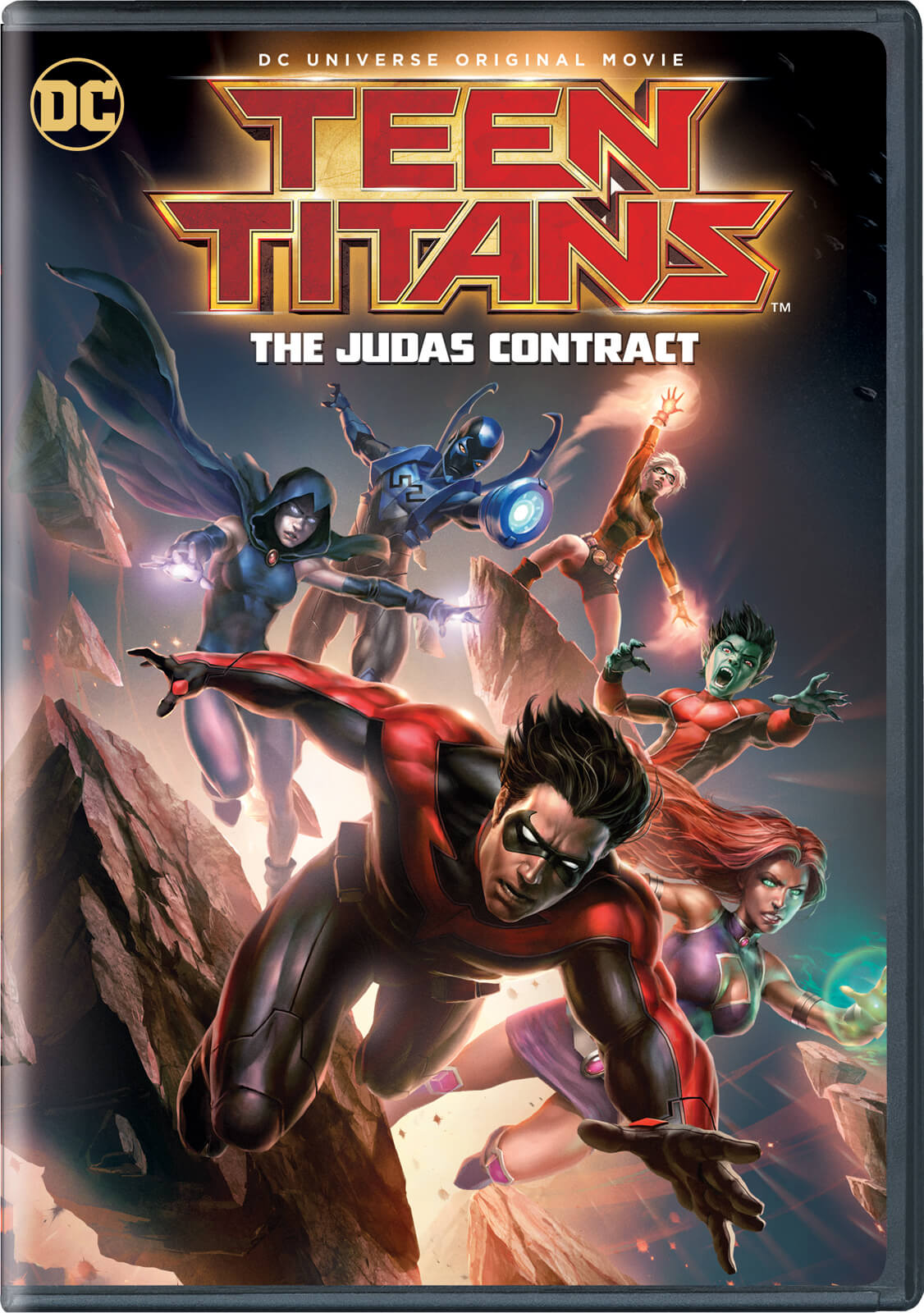 Teen Titans Judas Contract