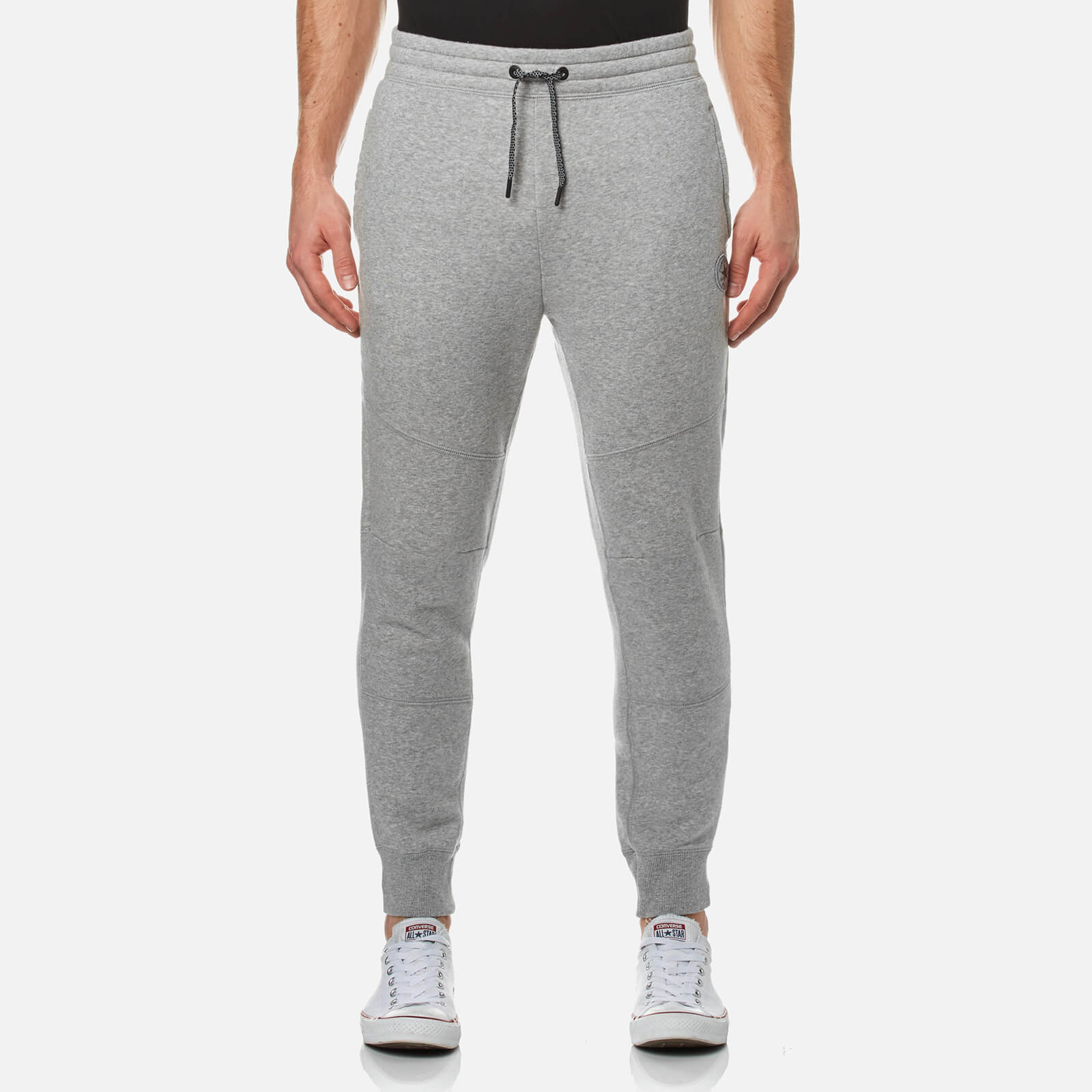 9dade668899d Converse Men s Core Reflective Panel Joggers - Vintage Grey Heather  Clothing