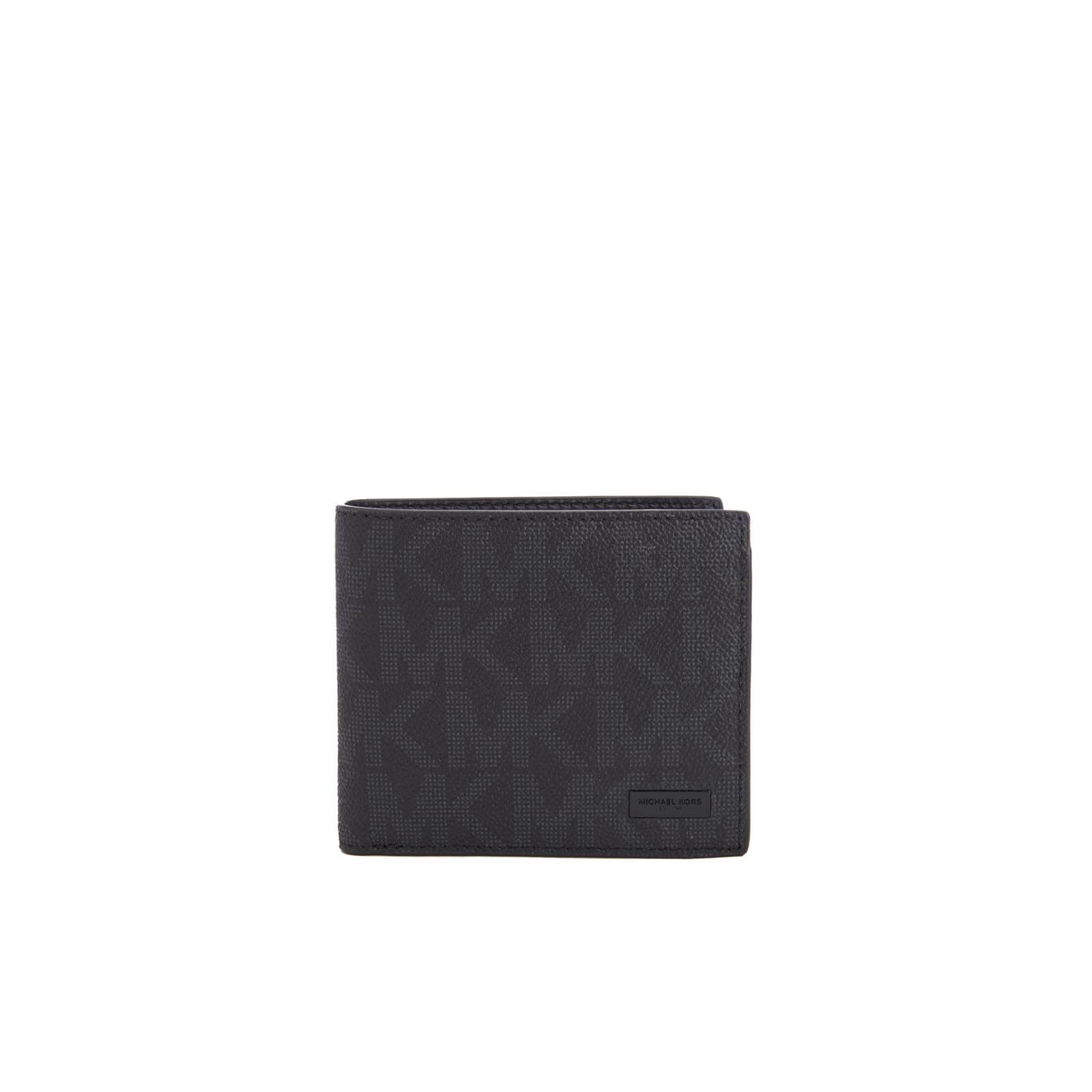 a2a5bc92b2b7 Michael Kors Men's Jet Set Billfold Wallet with Coin Pocket - Black Mens  Accessories | TheHut.com