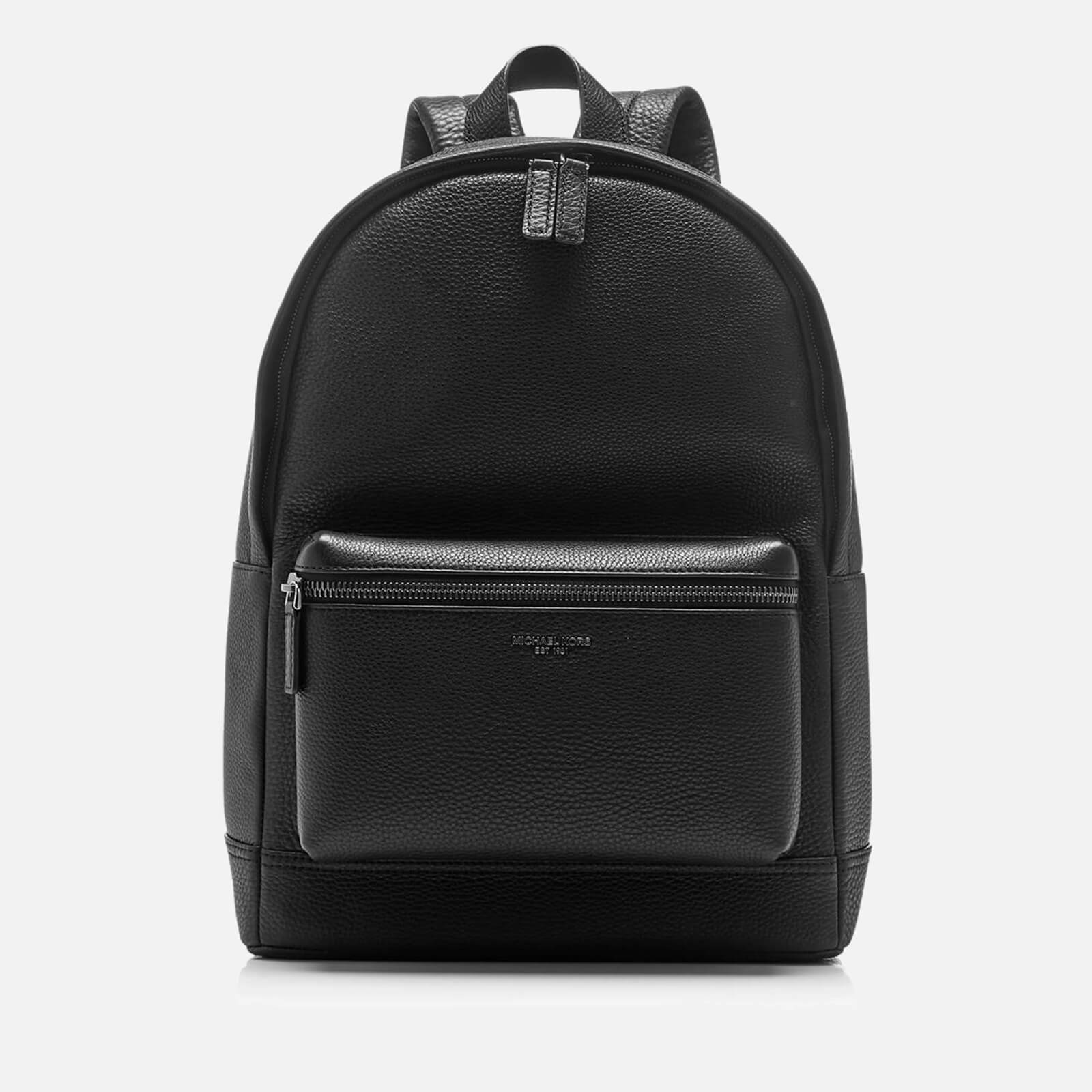 3c514a3b48f99 Michael Kors Men s Bryant Leather Backpack - Black - Free UK Delivery over  £50