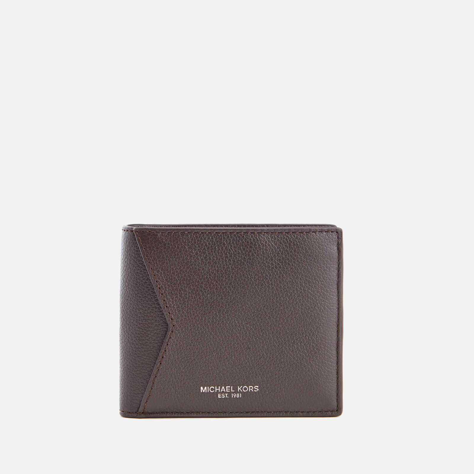4be3c0036dc00 Michael Kors Men s Bryant Billfold Wallet with Coin Pocket - Brown ...