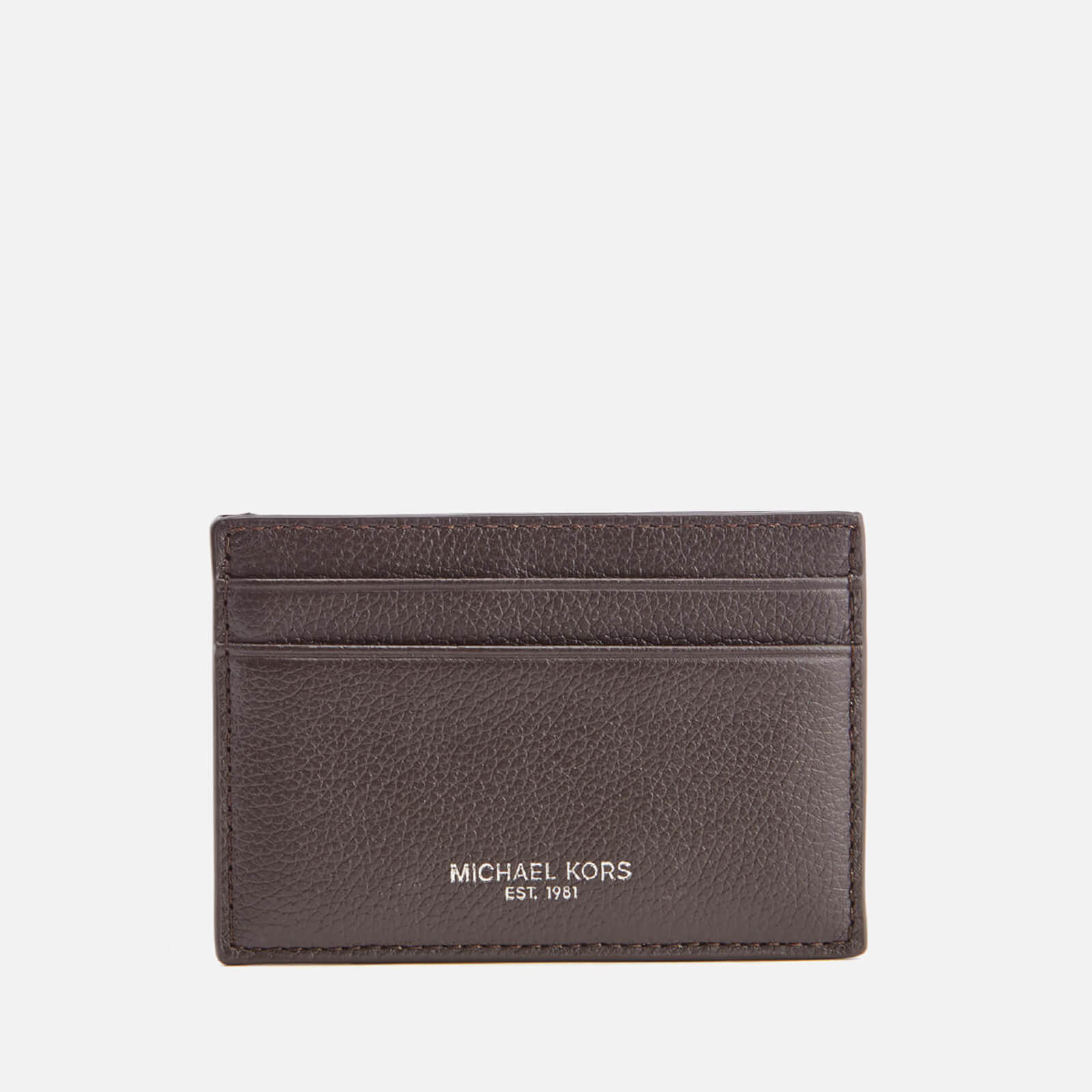 940176b043 Michael Kors Men's Bryant Card Case - Brown - Free UK Delivery over £50