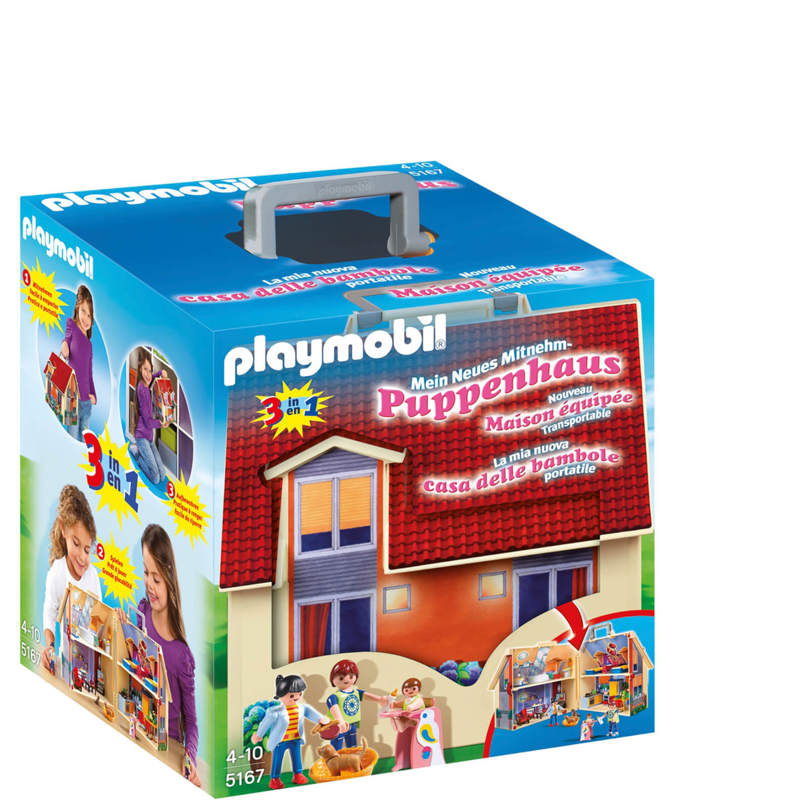 Playmobil Take Along Dollshouse (5167)