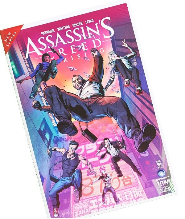 Assassins Creed Uprising #1 Comic