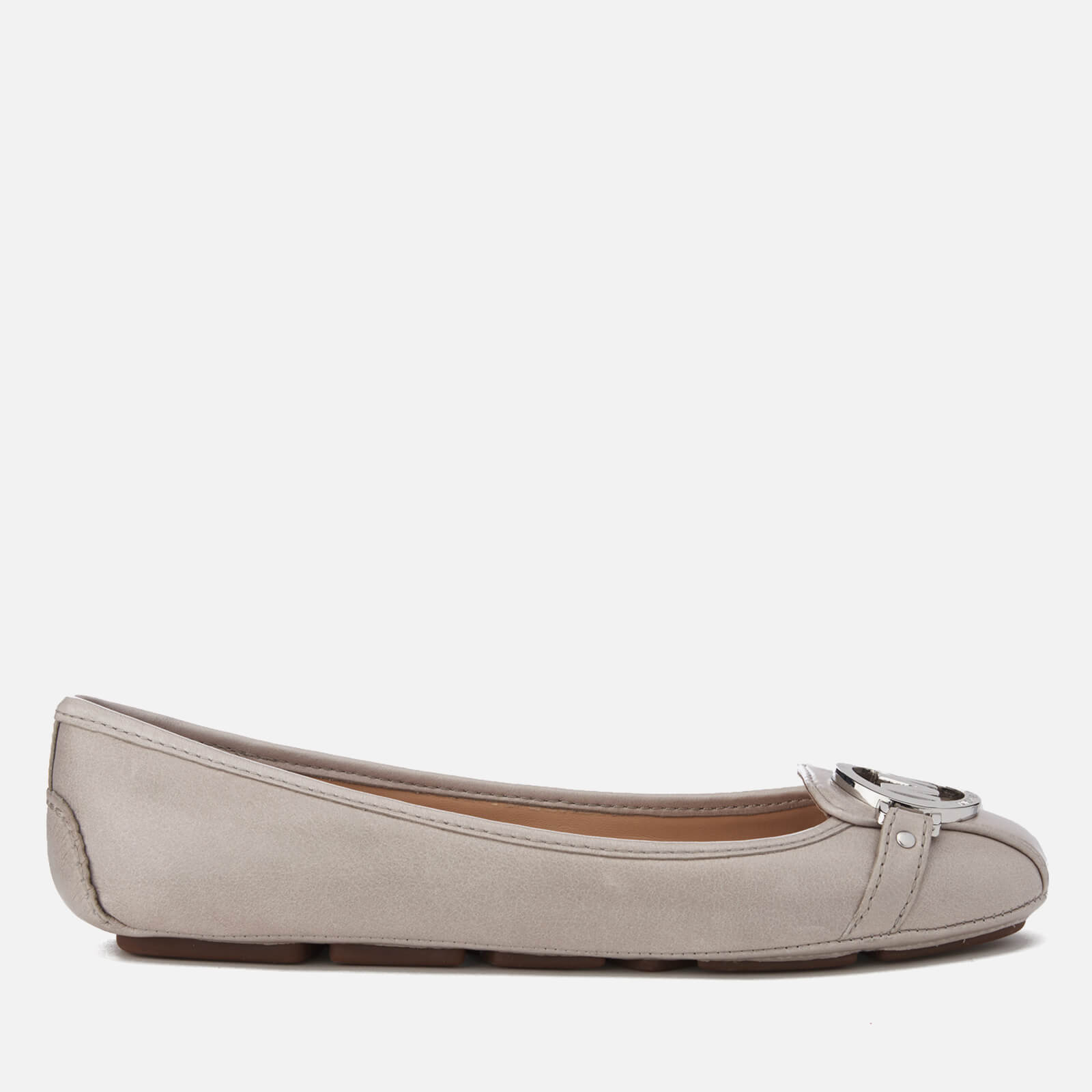 1922cc038b62 MICHAEL MICHAEL KORS Women s Fulton Leather Ballet Flats - Pearl Grey -  Free UK Delivery over £50