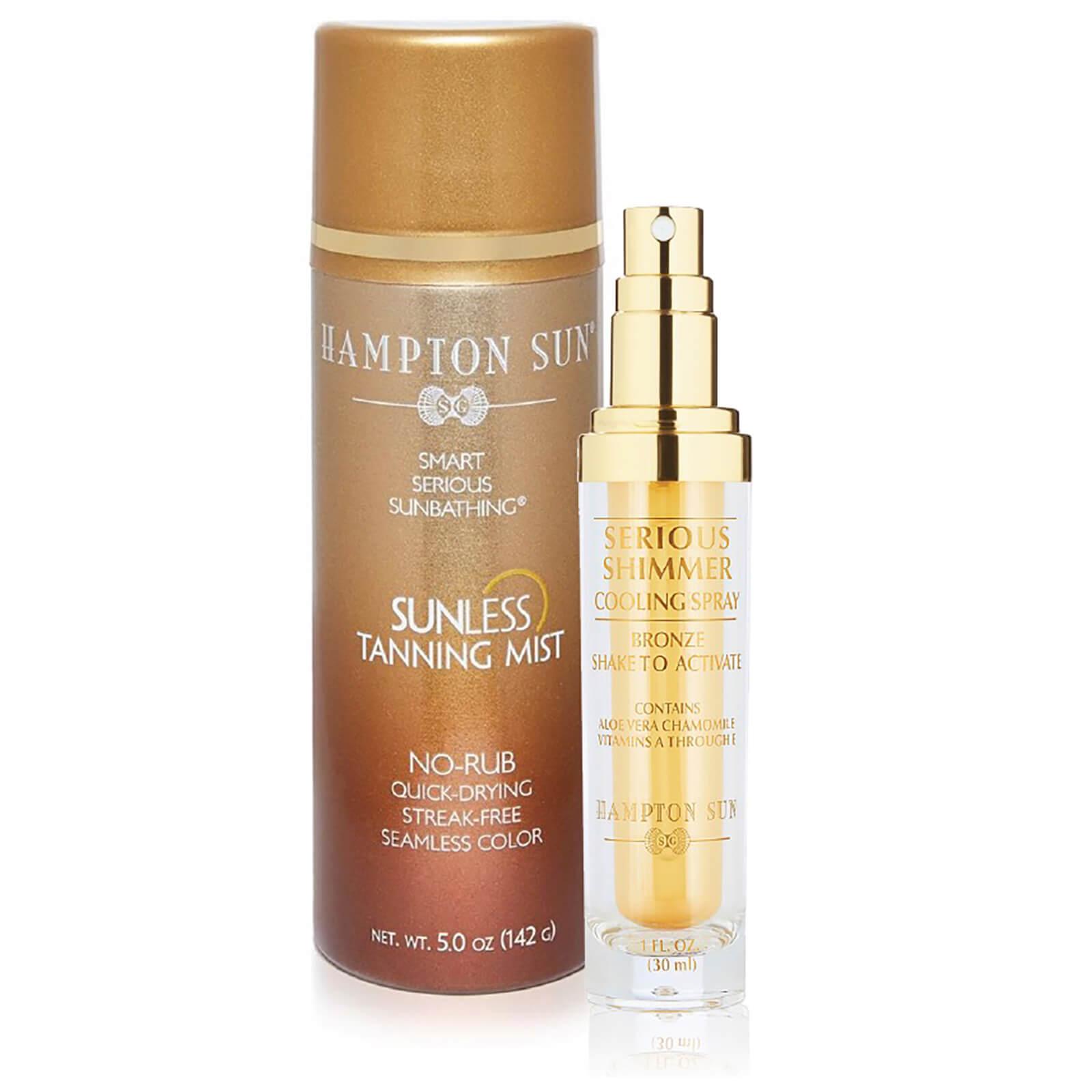 hampton sun sunless tanning mist shimmer bronze duo skinstore