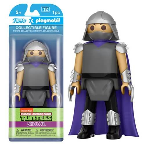 Funko x Playmobil: Teenage Mutant Ninja Turtles - Shredder Action Figure