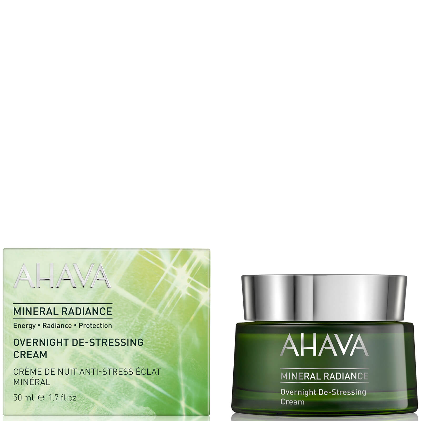 AHAVA Mineral Radiance Overnight De-Stressing Cream 1.7oz
