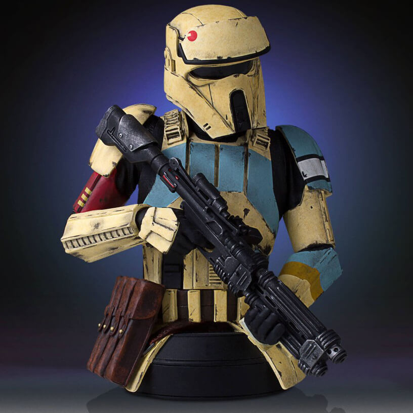 Star Wars Rogue One Shoretrooper Bust