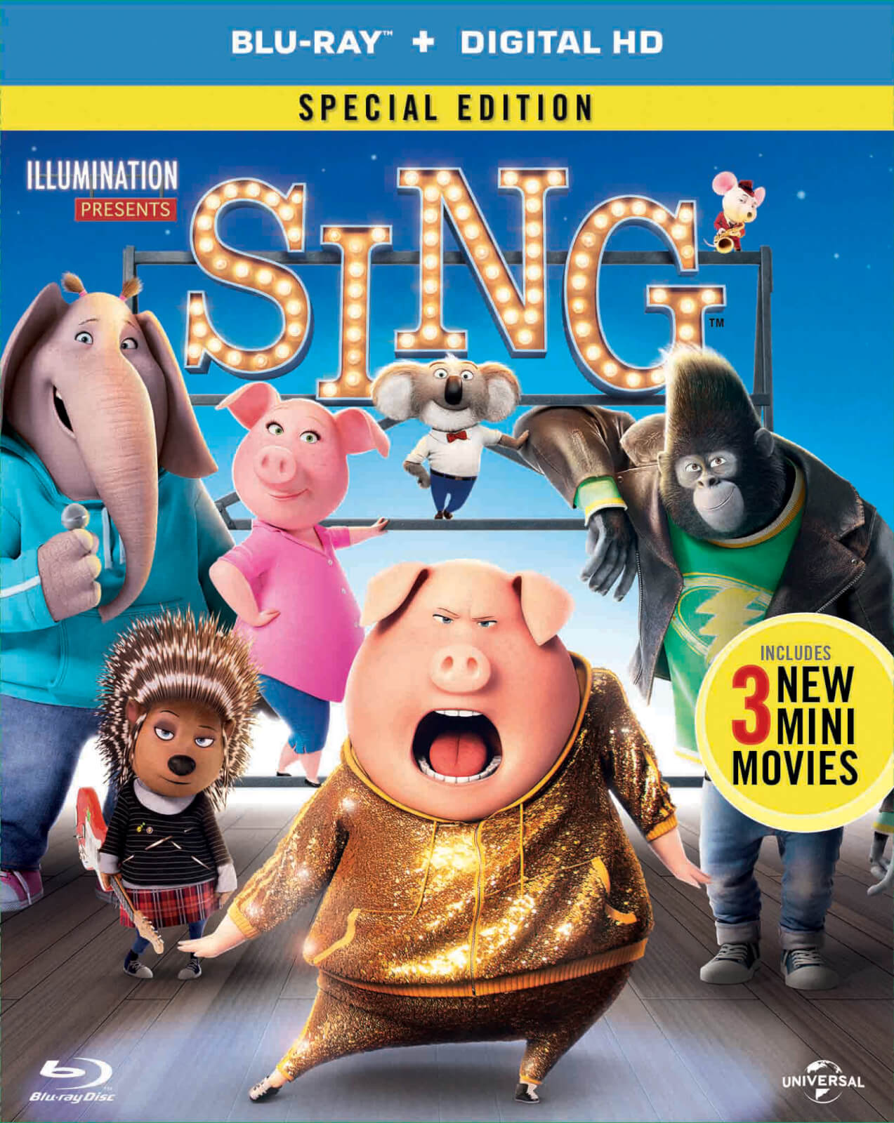 Sing (Includes DVD + Digital Download)