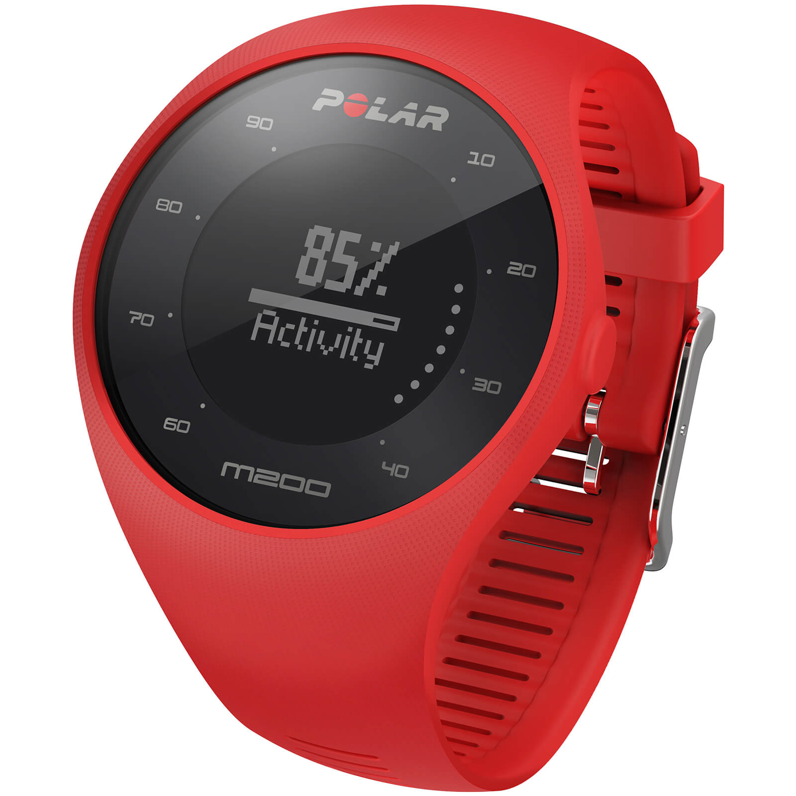 Polar M200 GPS Running Watch - Red