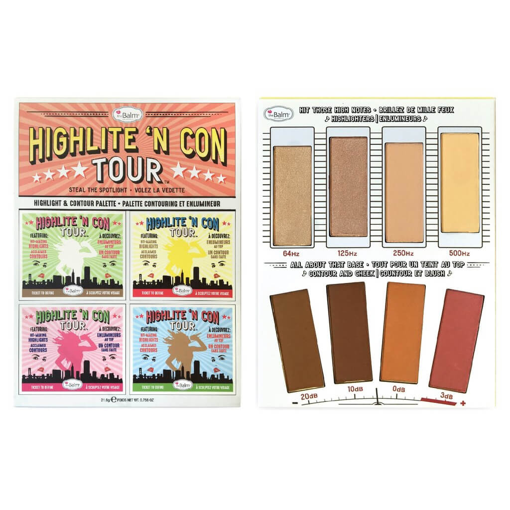 Thebalm Highlite N Con Tour Face Palette Free Shipping Ongkir Philips Dry Iron Hi 1172 Lookfantastic