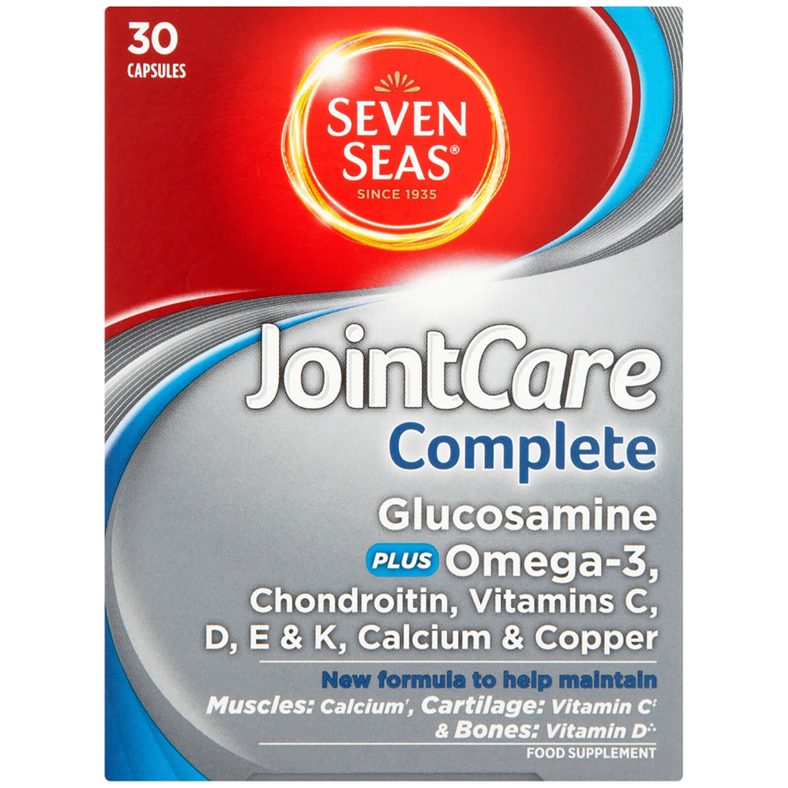 Seven Seas JointCare Complete - 30 Capsules