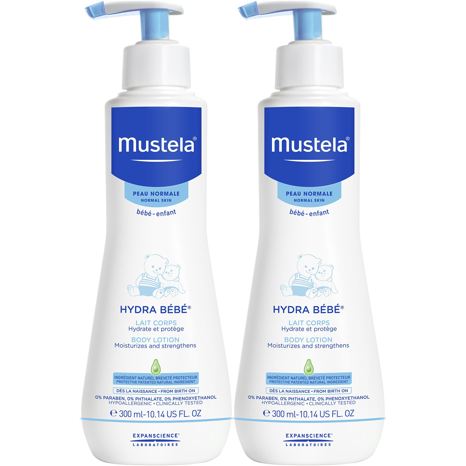 Mustela Hydra Bebe Body Lotion Pack of 2