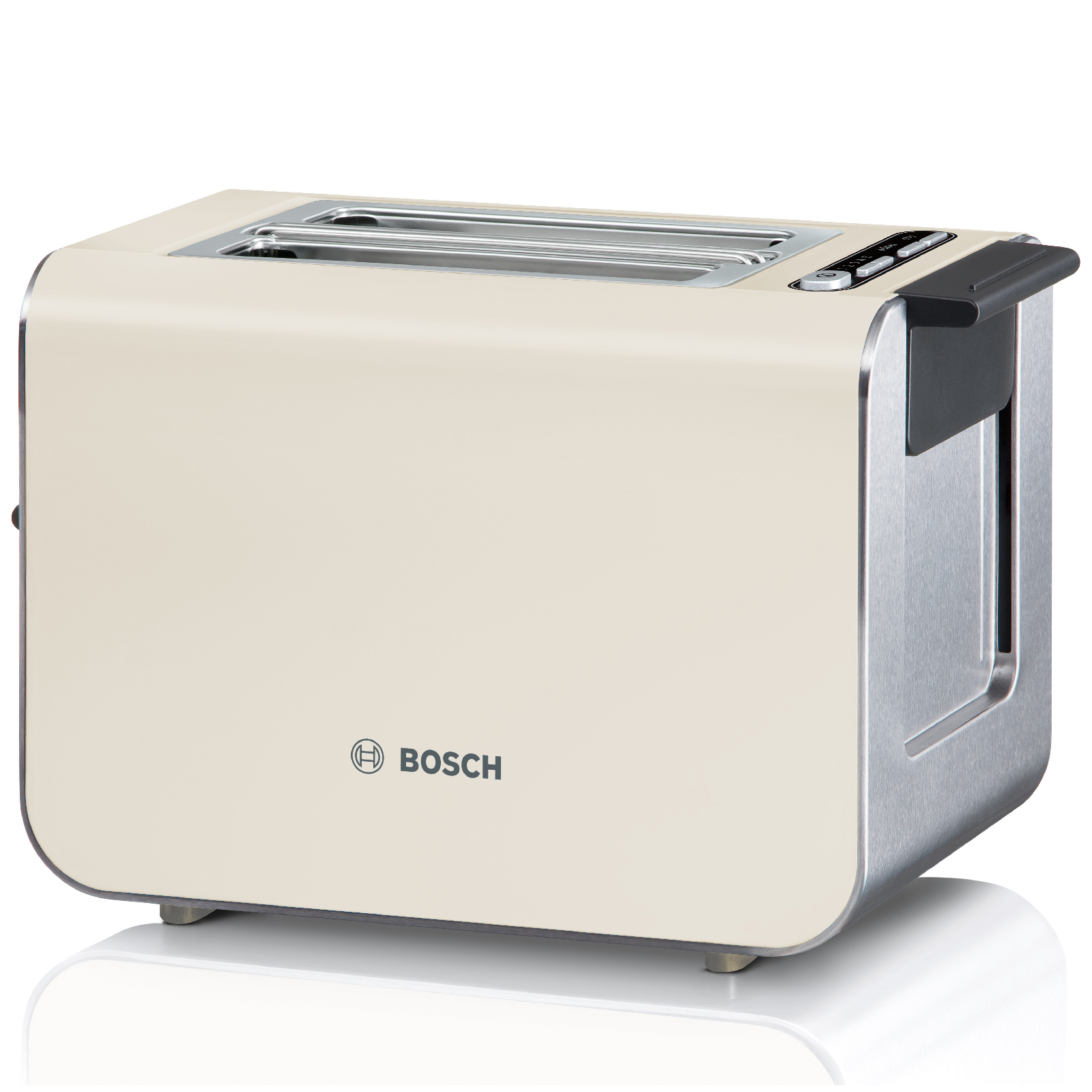 Bosch Tat8617gb Cream Styline 2 Slice Toaster Iwoot