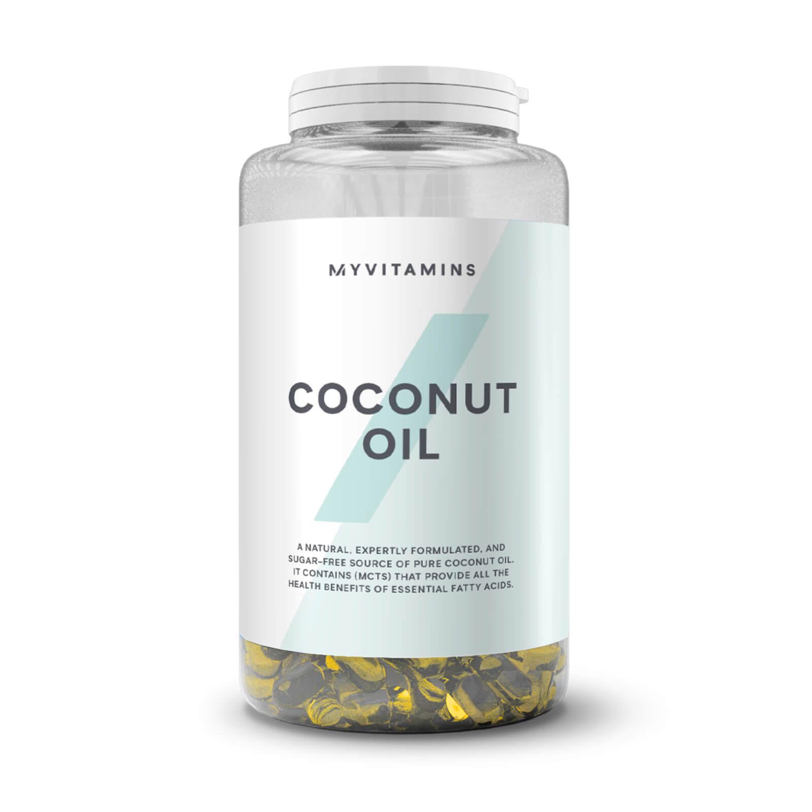 Coconut Oil Softgels - 3 Months (90 Softgels)