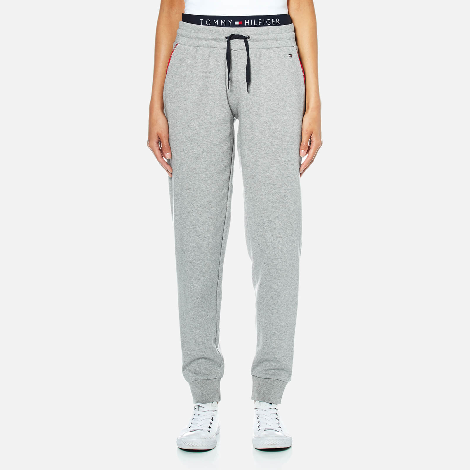 922a03a72 Tommy Hilfiger Women's Track Pants - Mid Grey Heather Clothing | TheHut.com