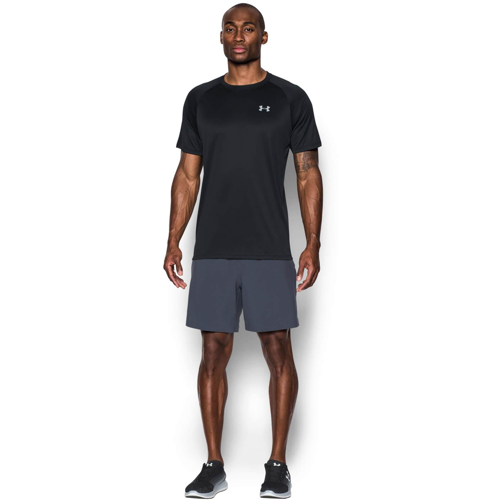 447306a6 Under Armour Men's Speed Stride Run T-Shirt - Black Sports & Leisure |  TheHut.com
