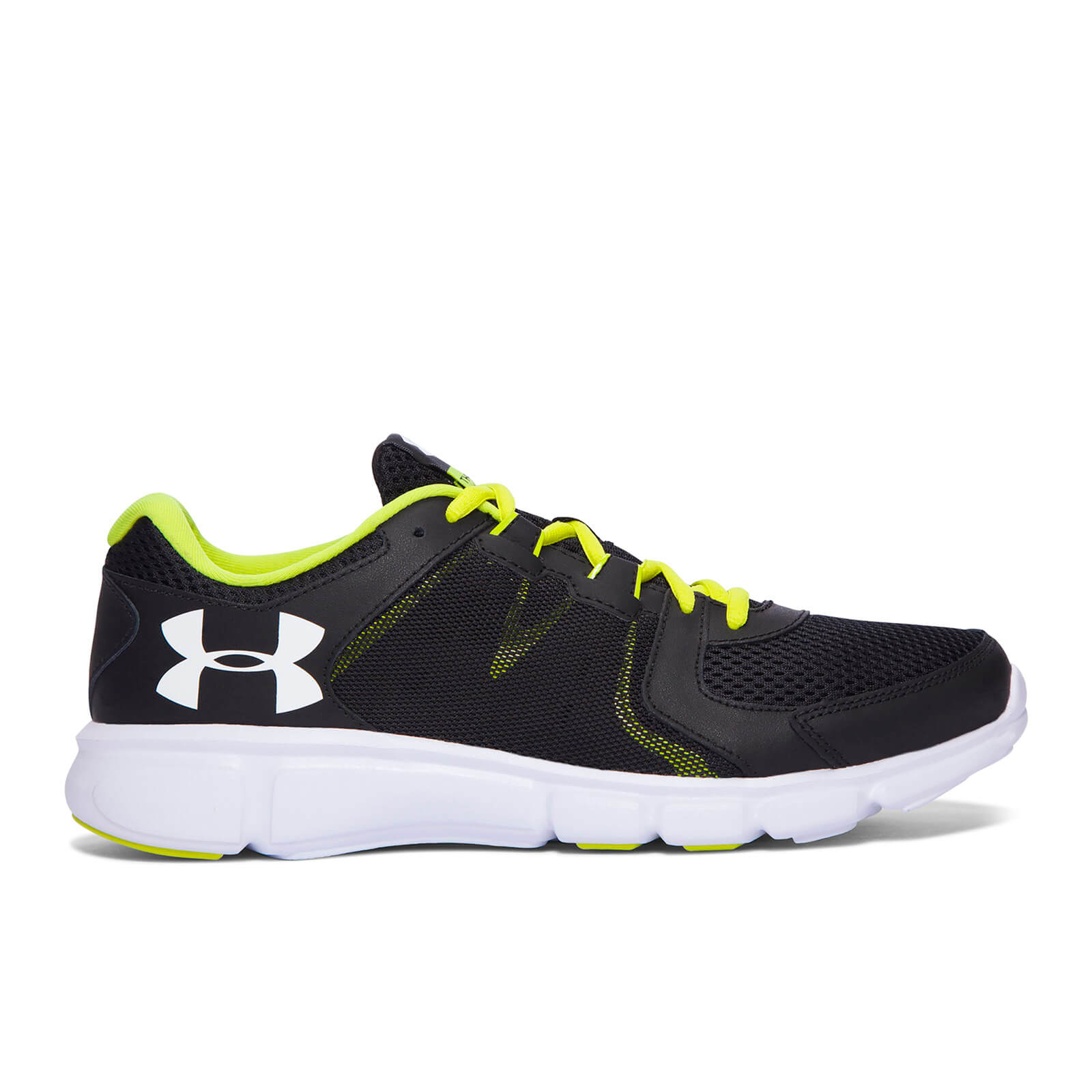 huge discount 90ebd b1f2f Under Armour Men's Thrill 2 Running Shoes - Black/Smash Yellow