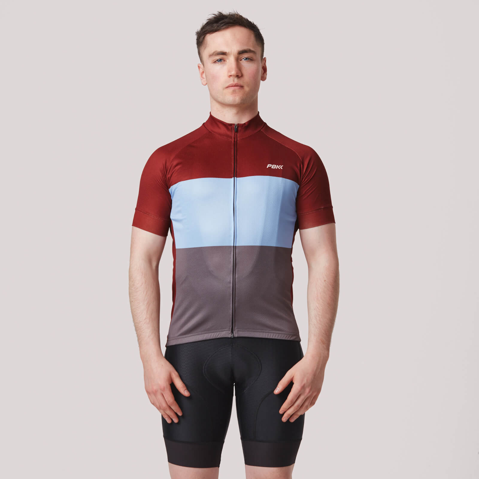 PBK Montagna Jersey - Red/Blue/Grey