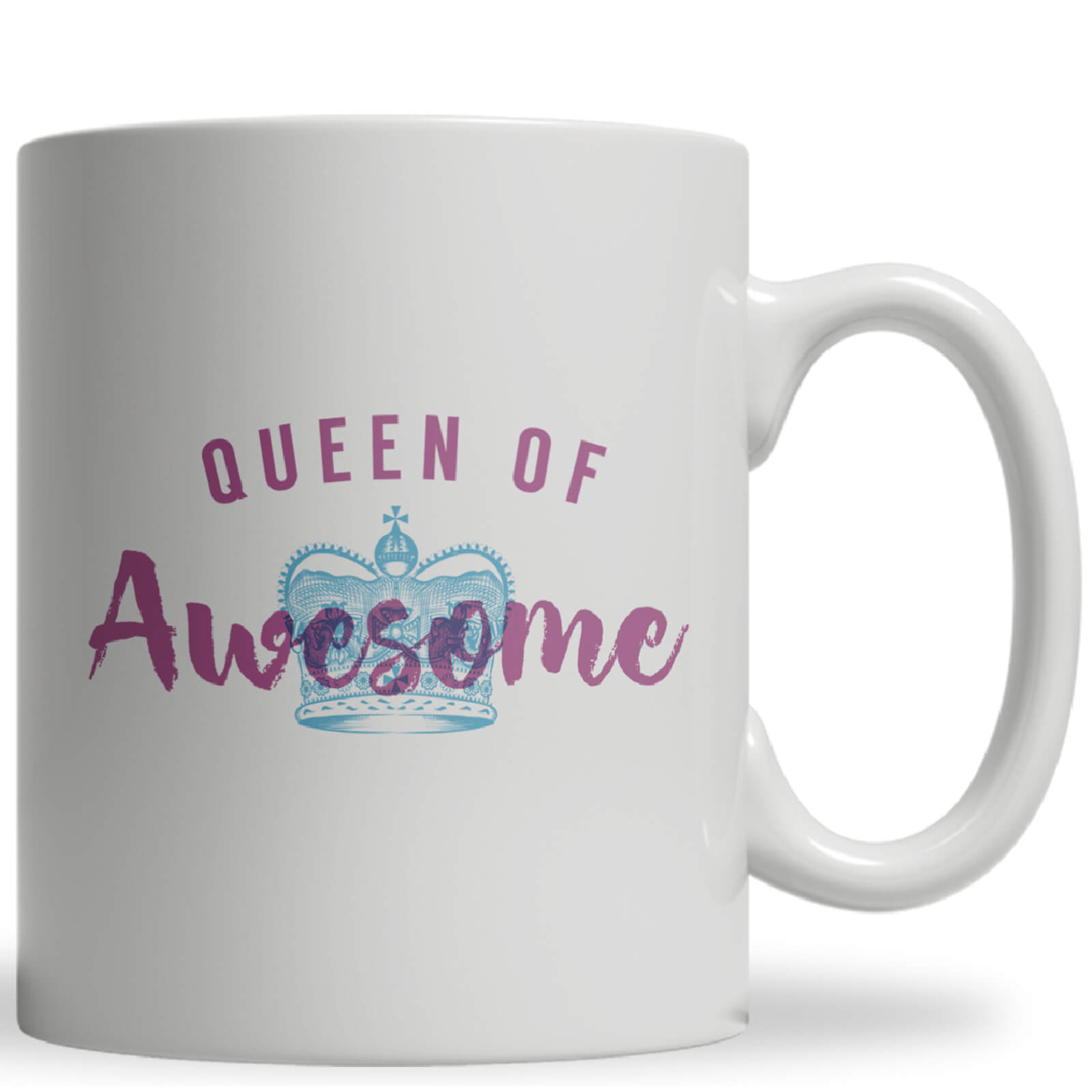 Tasse Queen Of Awesome