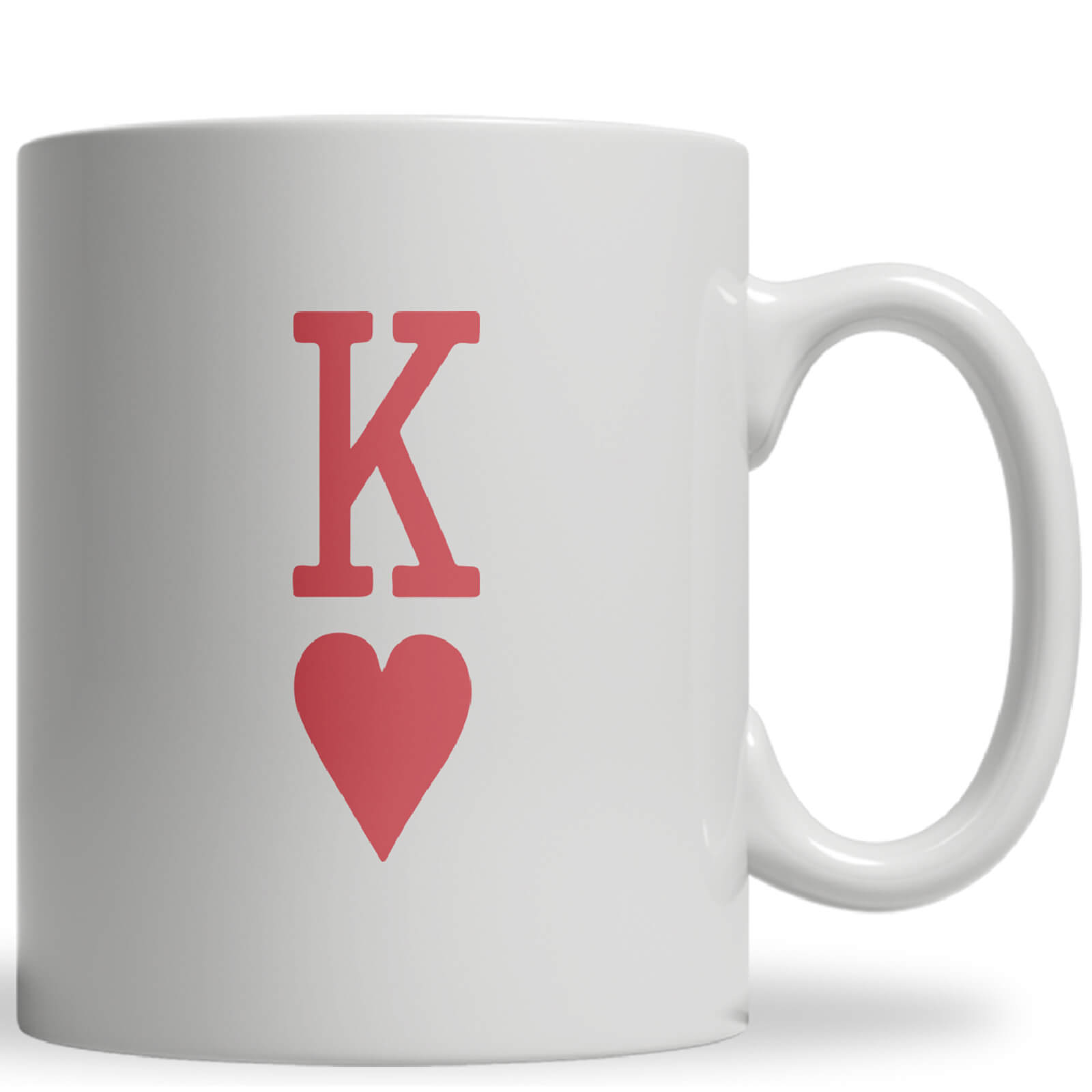 King of Hearts Ceramic Mug