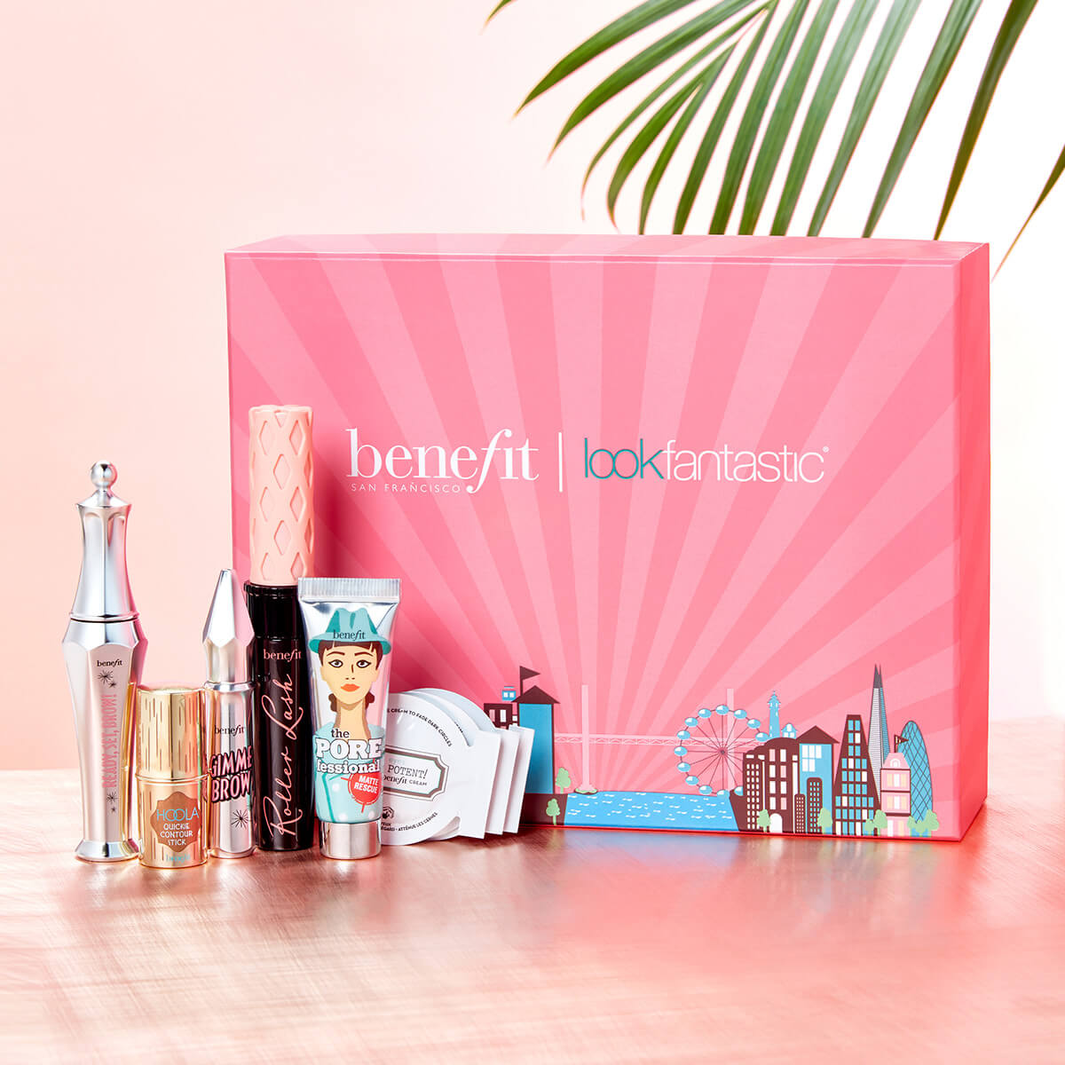 Lookfantastic X Benefit Limited Edition Beauty Box Free Shipping