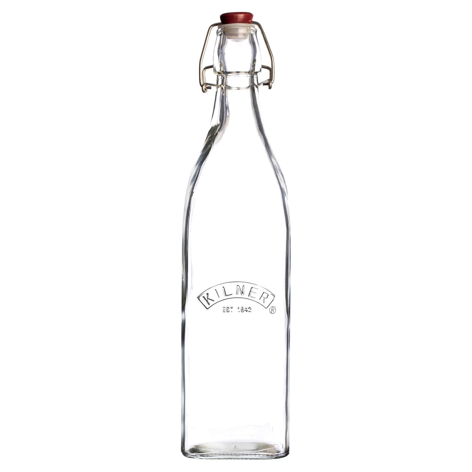 Kilner Clip Top Square Bottle 1L