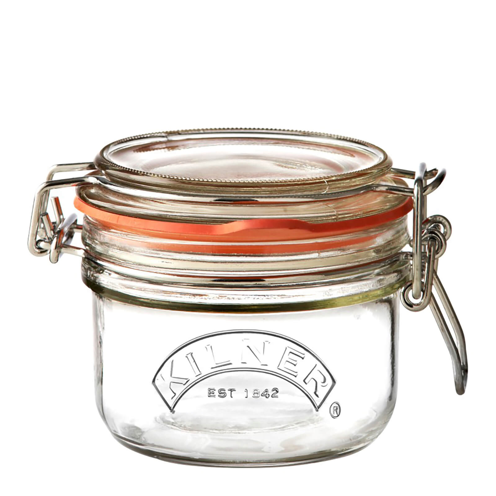 Kilner Clip Top Round Jar 125ml