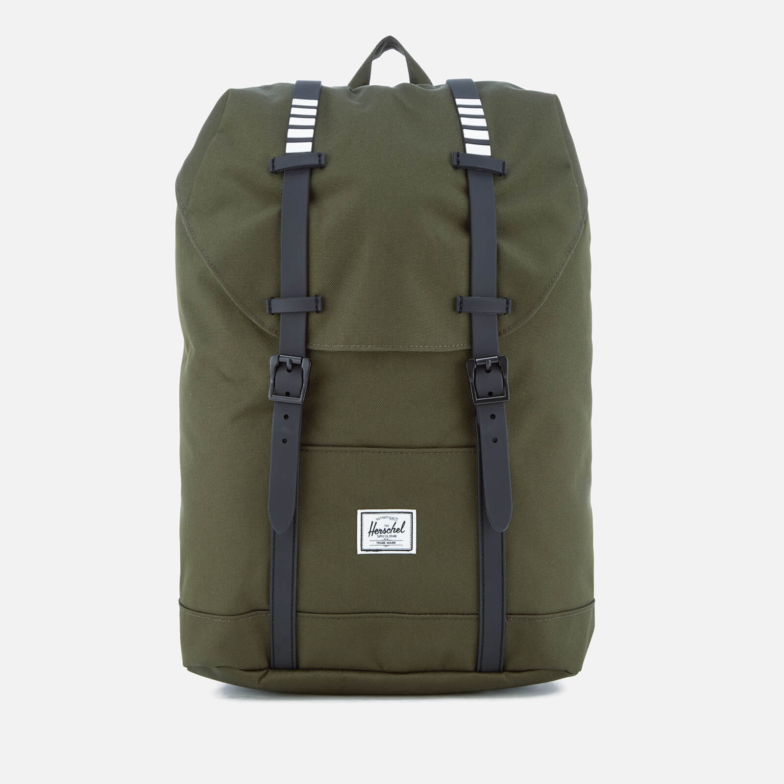 135cd7c99 Herschel Supply Co. Retreat Mid-Volume Backpack - Forest Night/Black  Rubber/White Inset - Free UK Delivery over £50