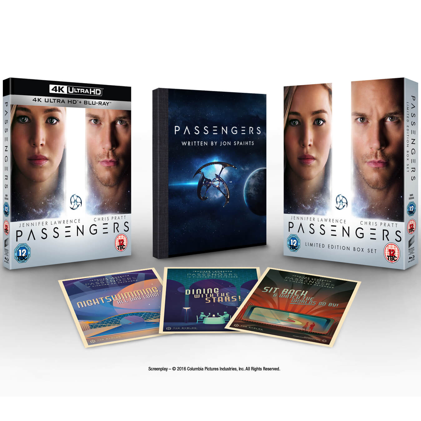 Passengers - 4K Ultra HD (Limited Edition Boxset With Script & Postcards)