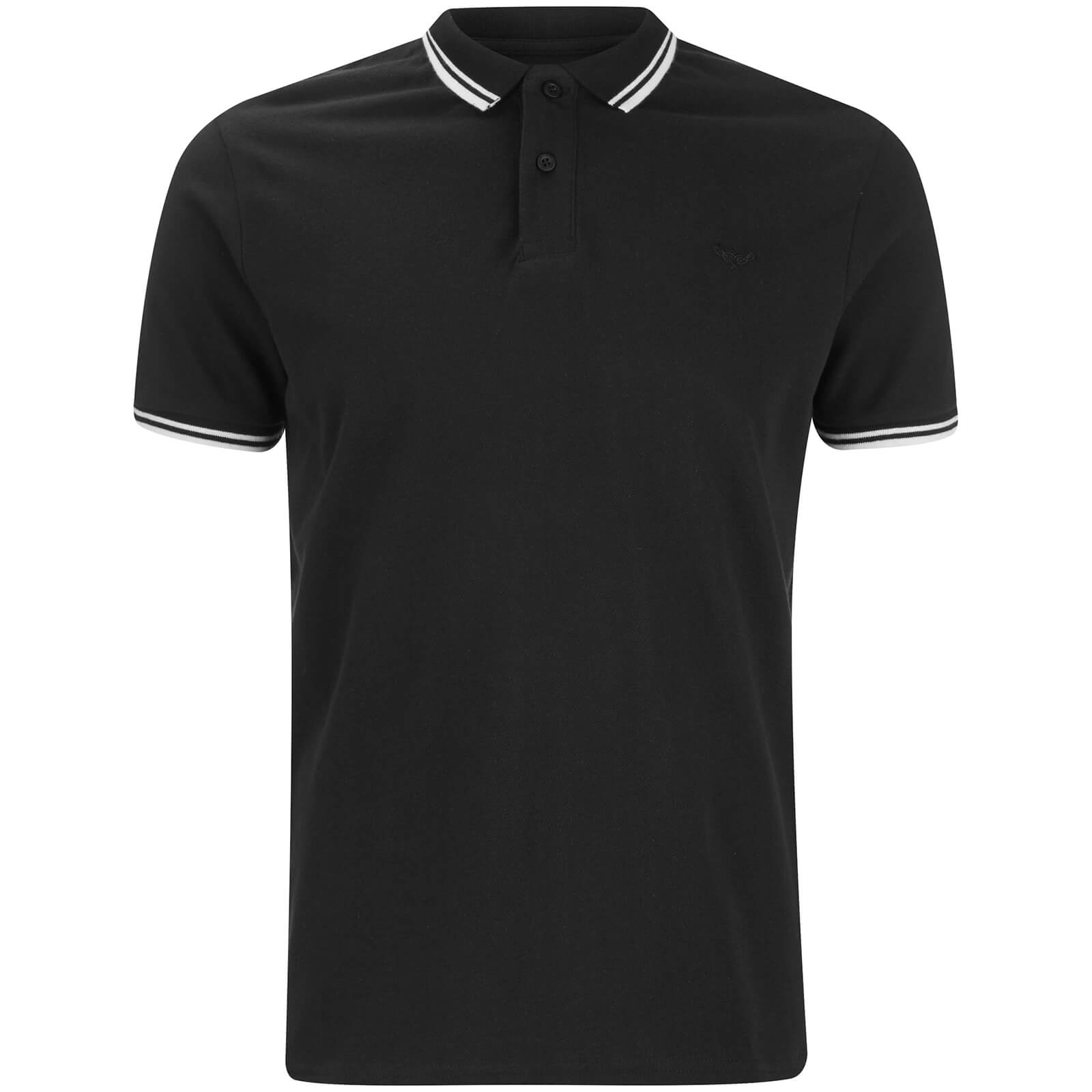 Threadbare Men s Gilroy Polo Shirt - Black. Description c13023636