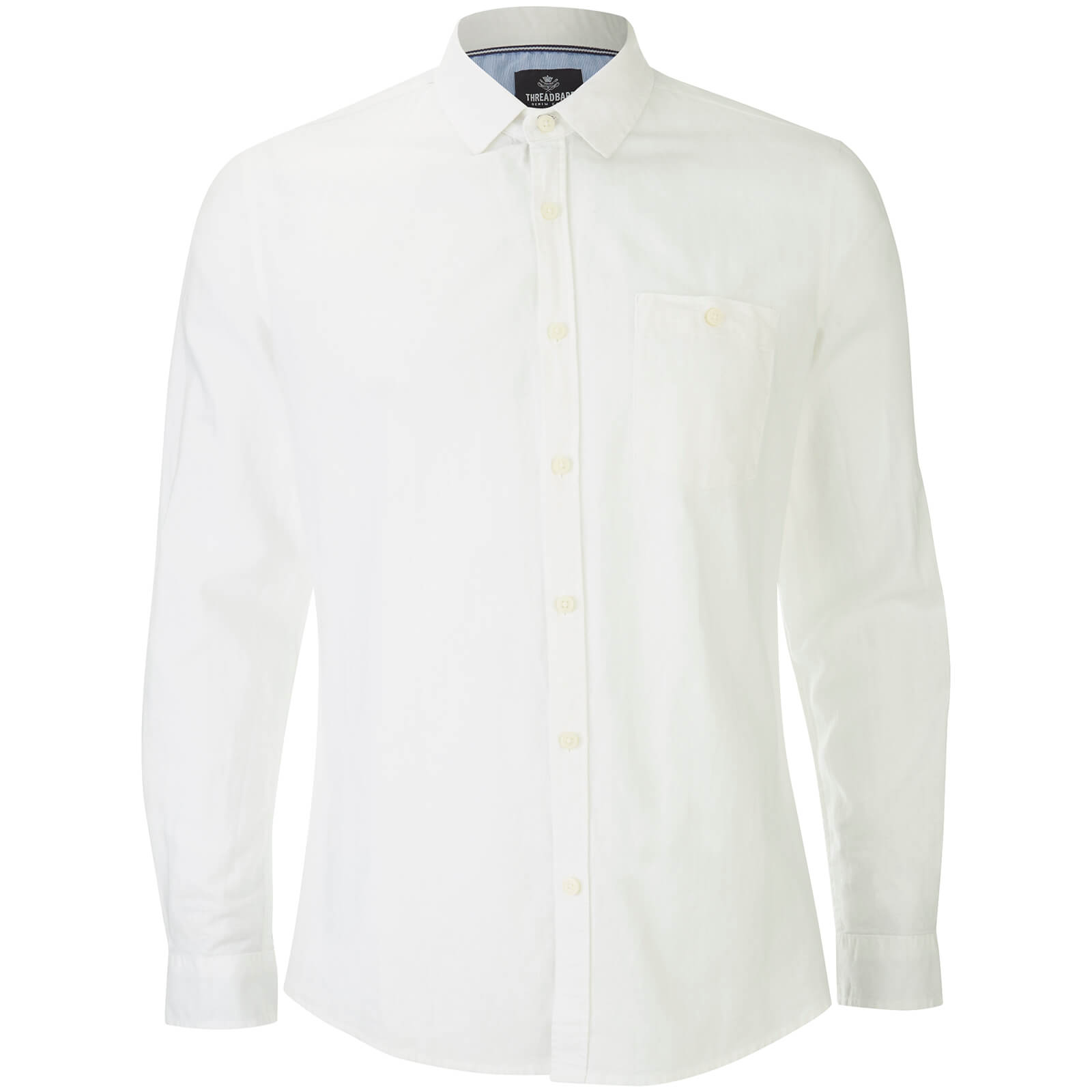 Chemise Manches Longues Butterbean Threadbare -Blanc