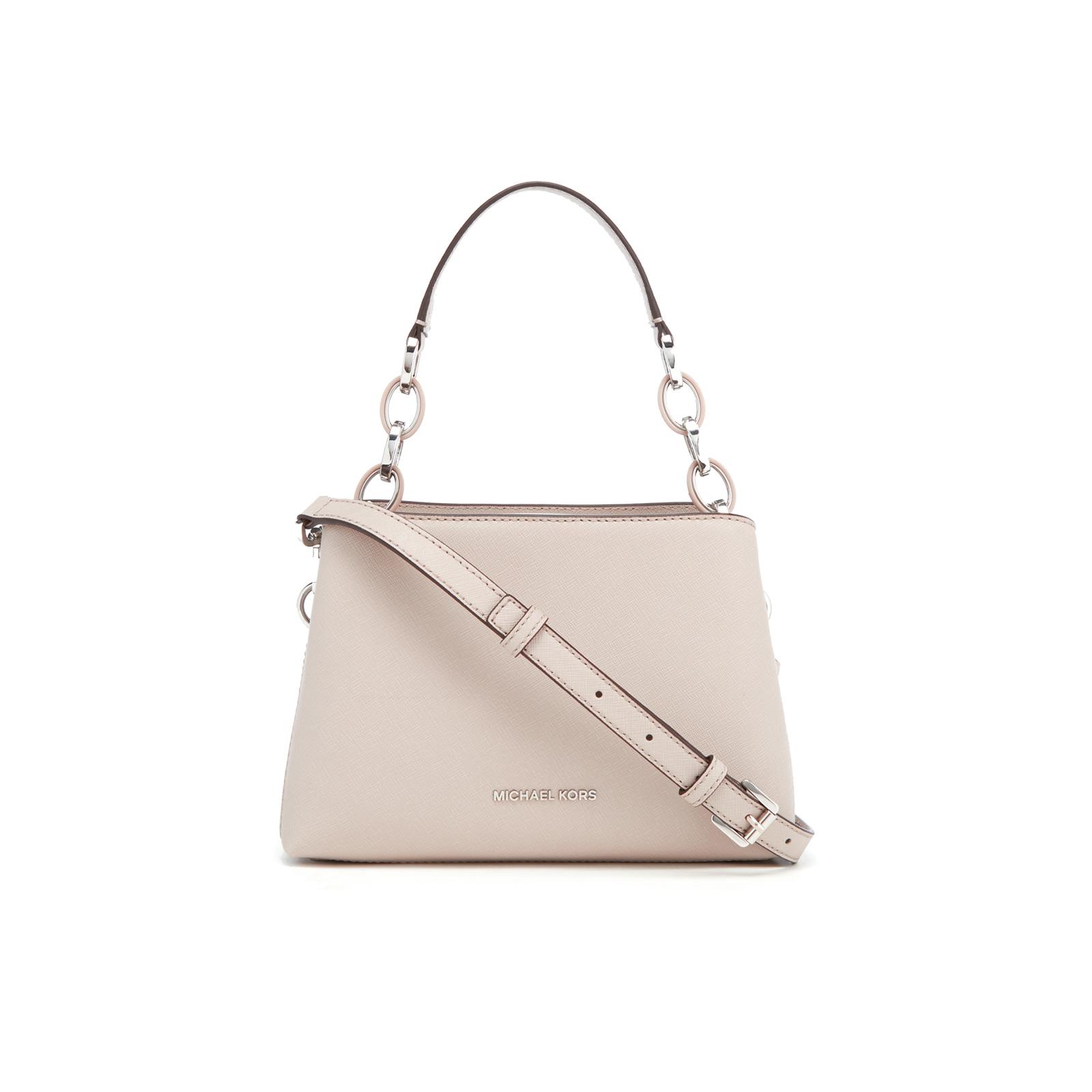 5883e6b7223279 MICHAEL MICHAEL KORS Women's Portia Small Shoulder Bag - Cement - Free UK  Delivery over £50