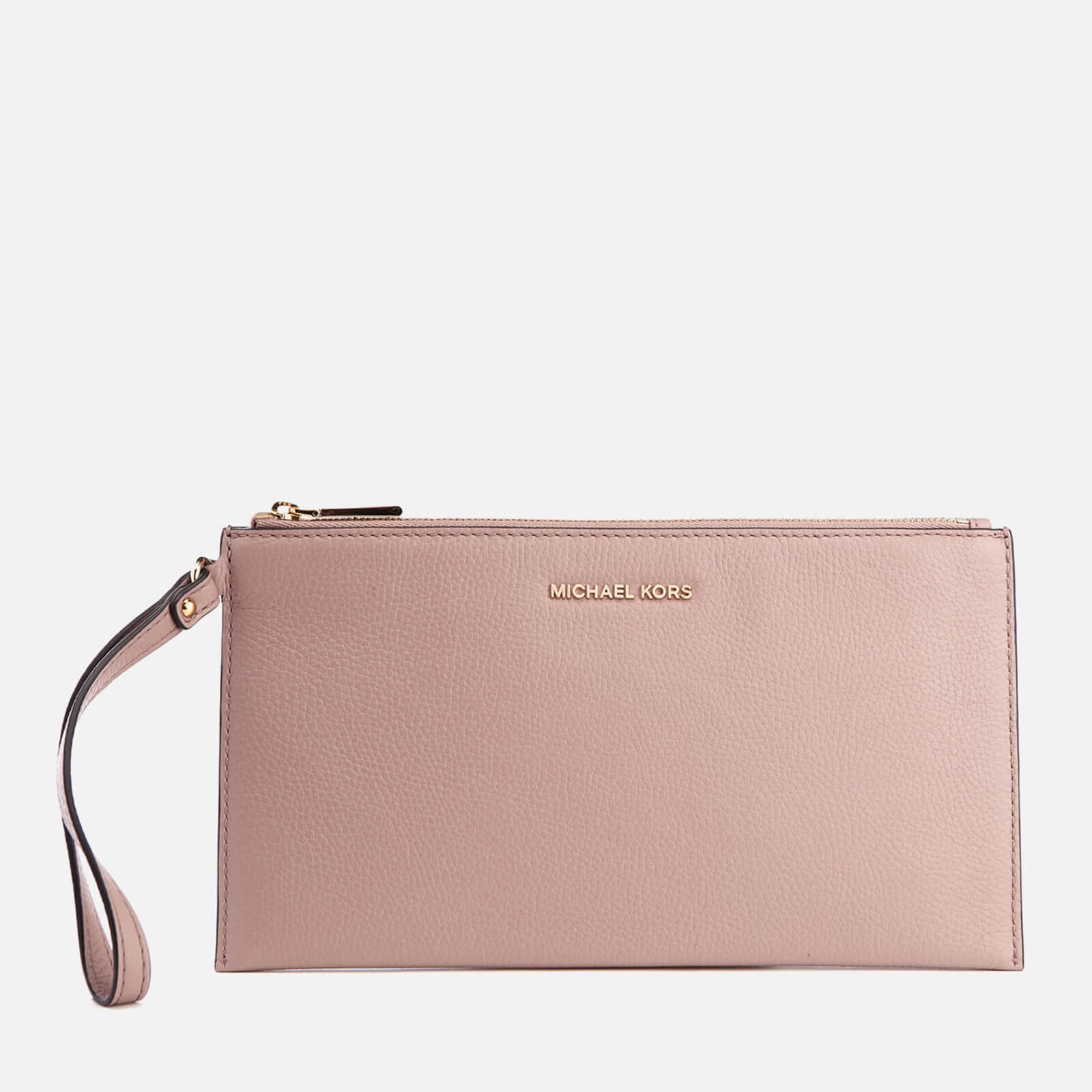 a89b8e113f5a32 MICHAEL MICHAEL KORS Women's Mercer Zip Clutch Bag - Fawn - Free UK  Delivery over £50