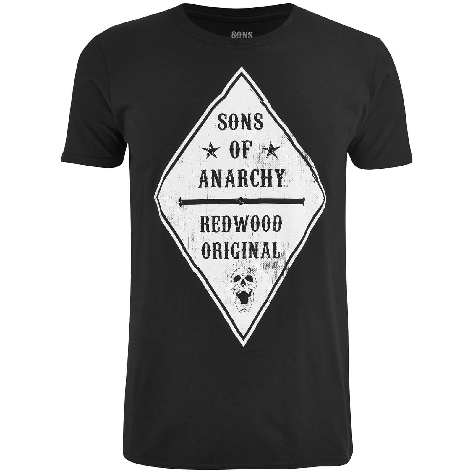 Sons Of Anarchy Männer Skull Club T Shirt Schwarz Merchandise