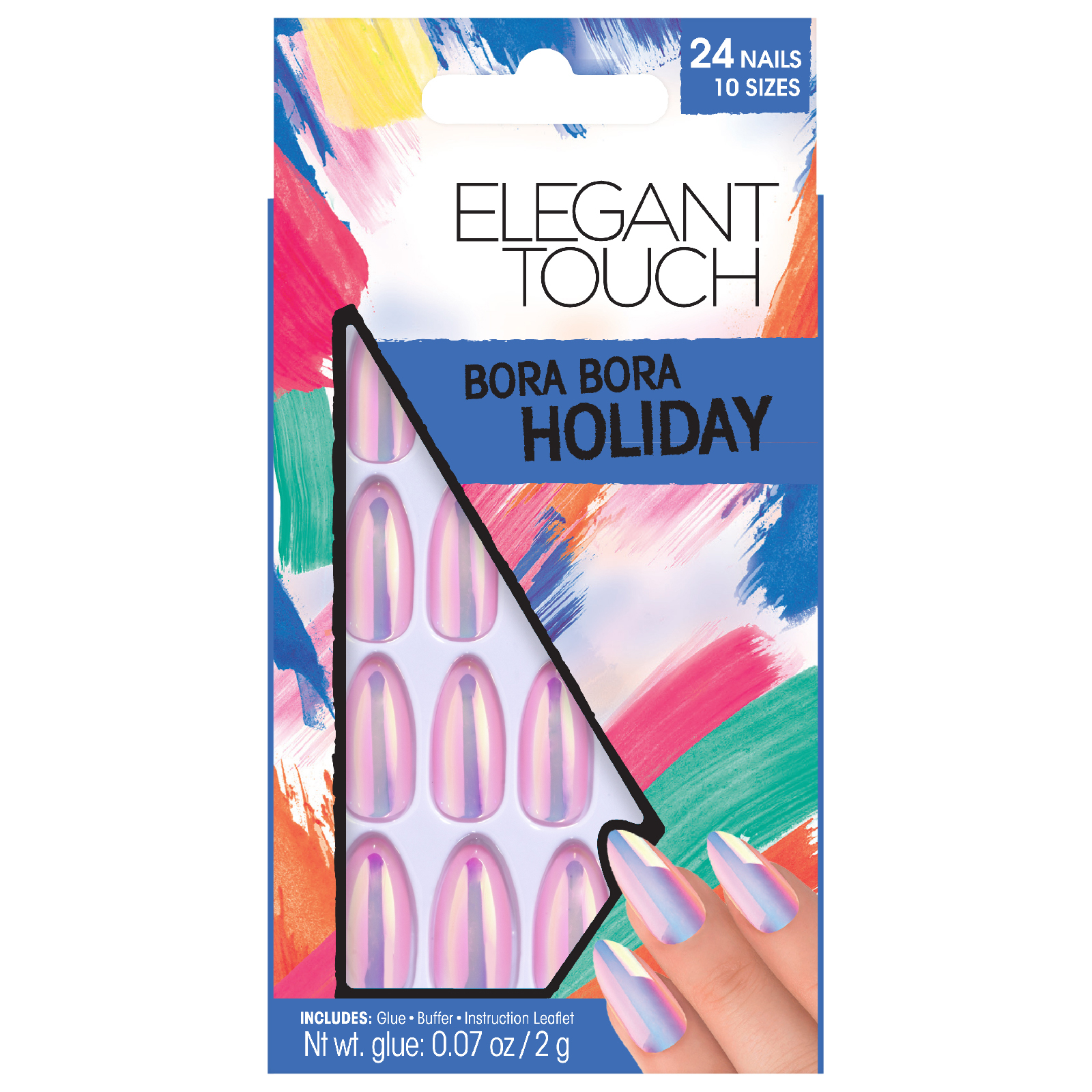 Elegant Touch Collection Nails - Bora Bora