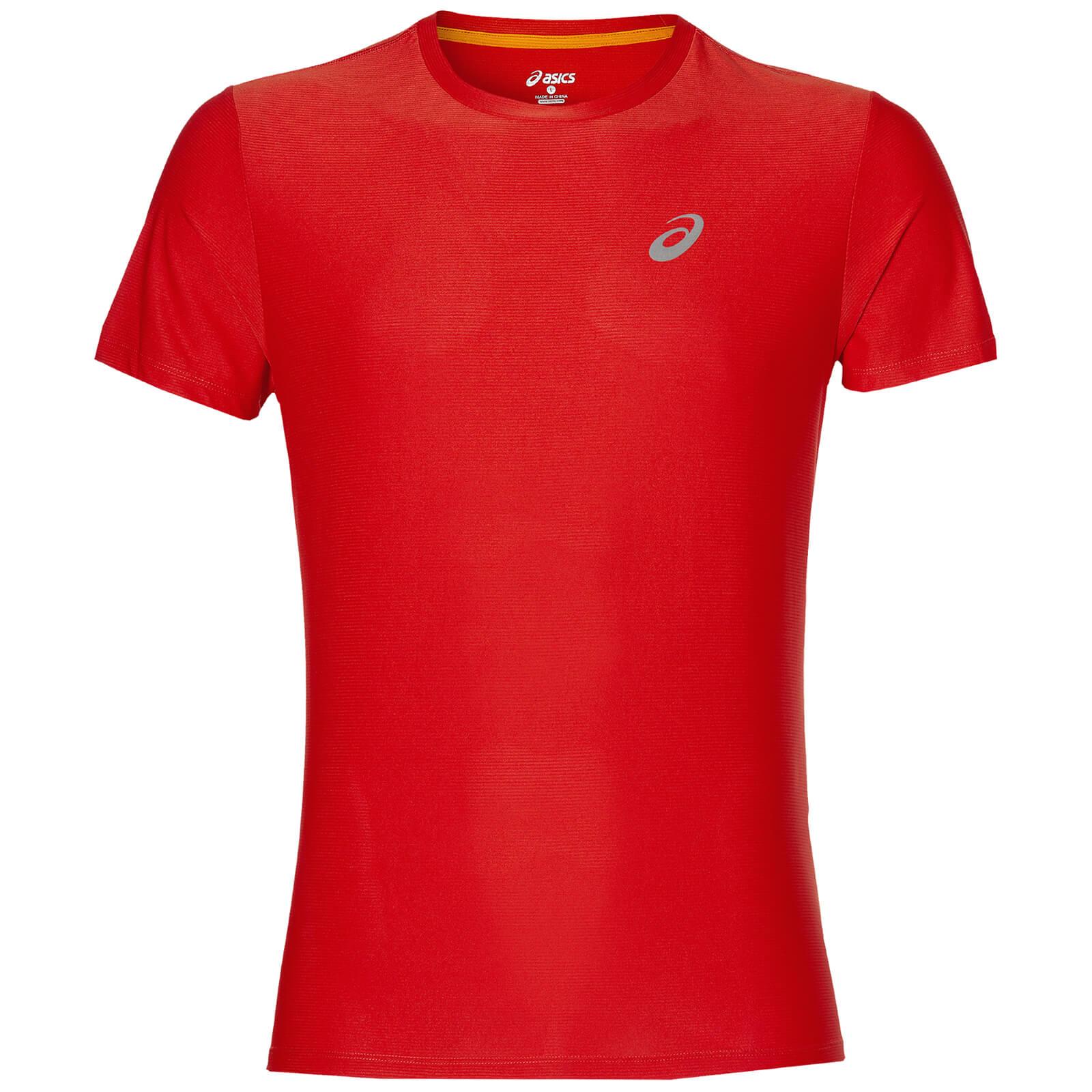 asics mens running shirt