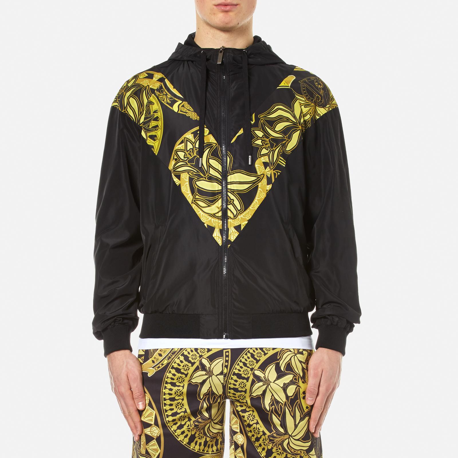 21e22e2a3c Versace Jeans Men's Zipped Hooded Jacket - Nero