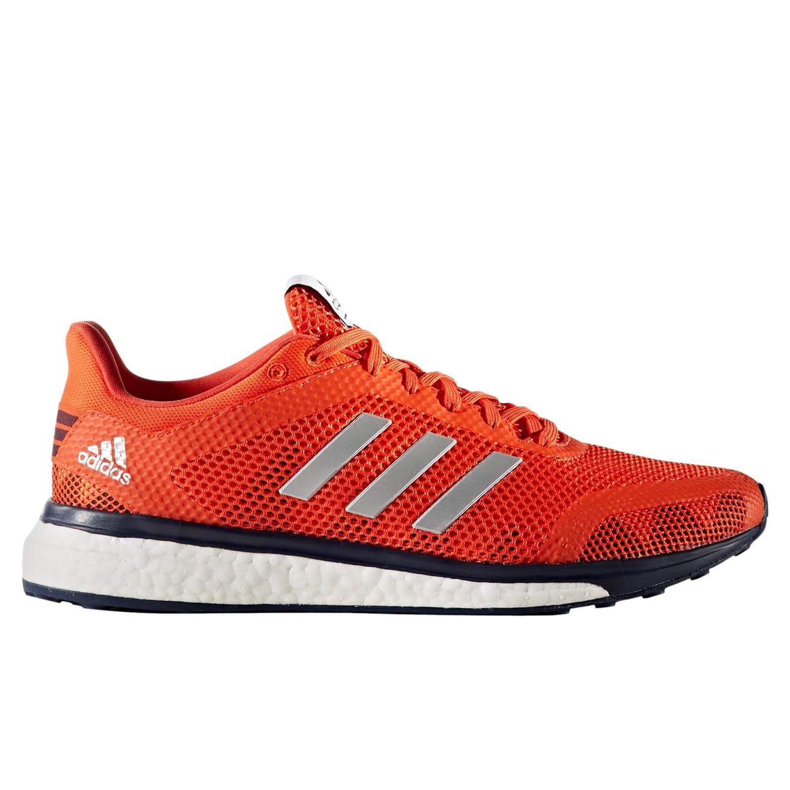 adidas Men's Response Plus Running Shoes Energy Red