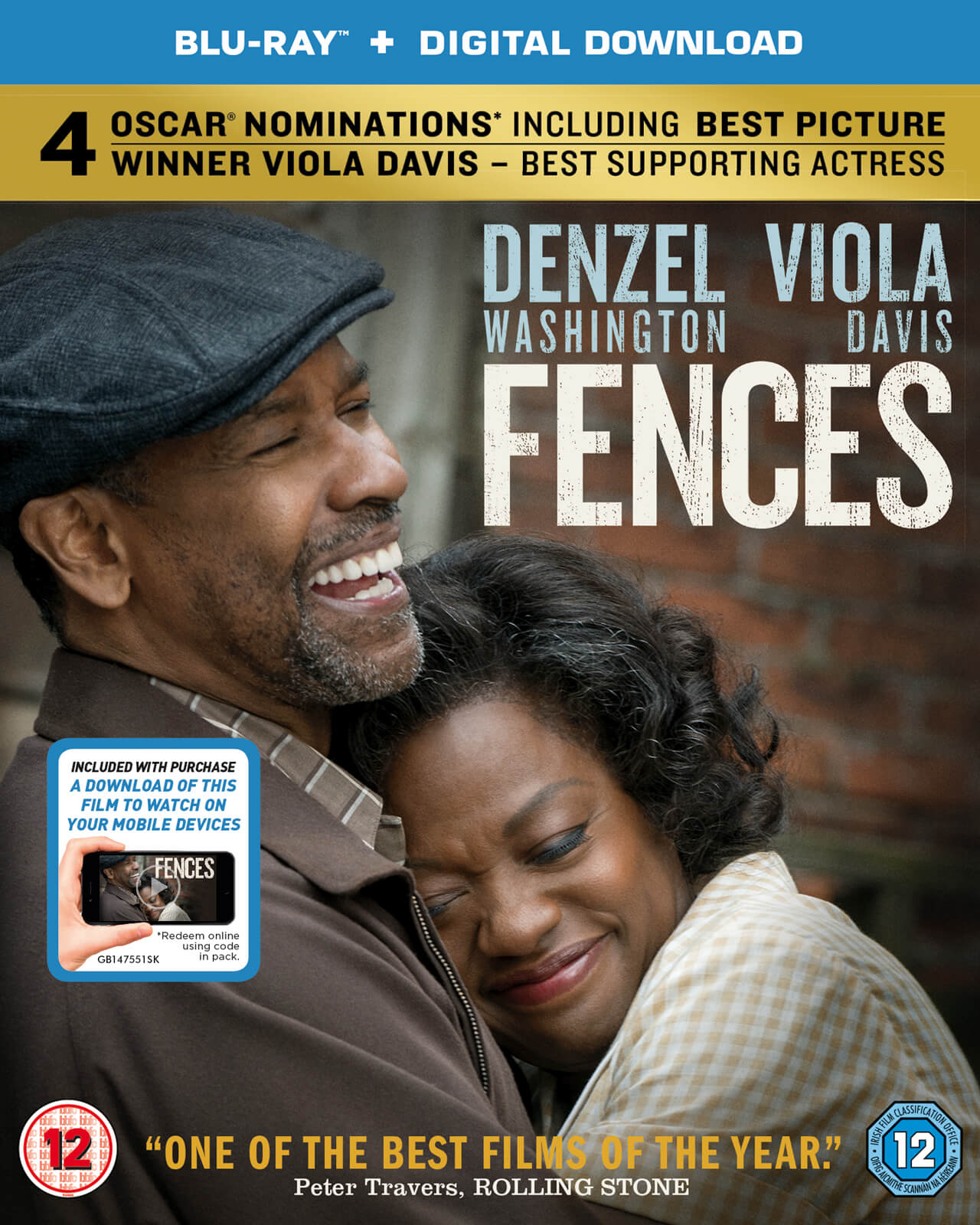 Fences (Includes Digital Download)