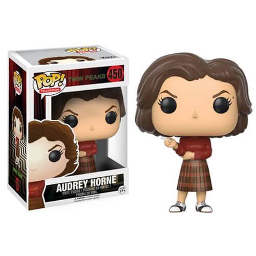 Twin Peaks Audrey Horn Pop Vinyl Figure Pop In A Box Uk