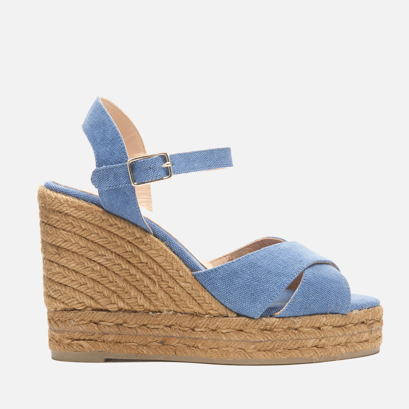 ac31acd5f29 Castaner Women s Blaudell Wedged Espadrille Sandals - Jeans - Free UK  Delivery over £50