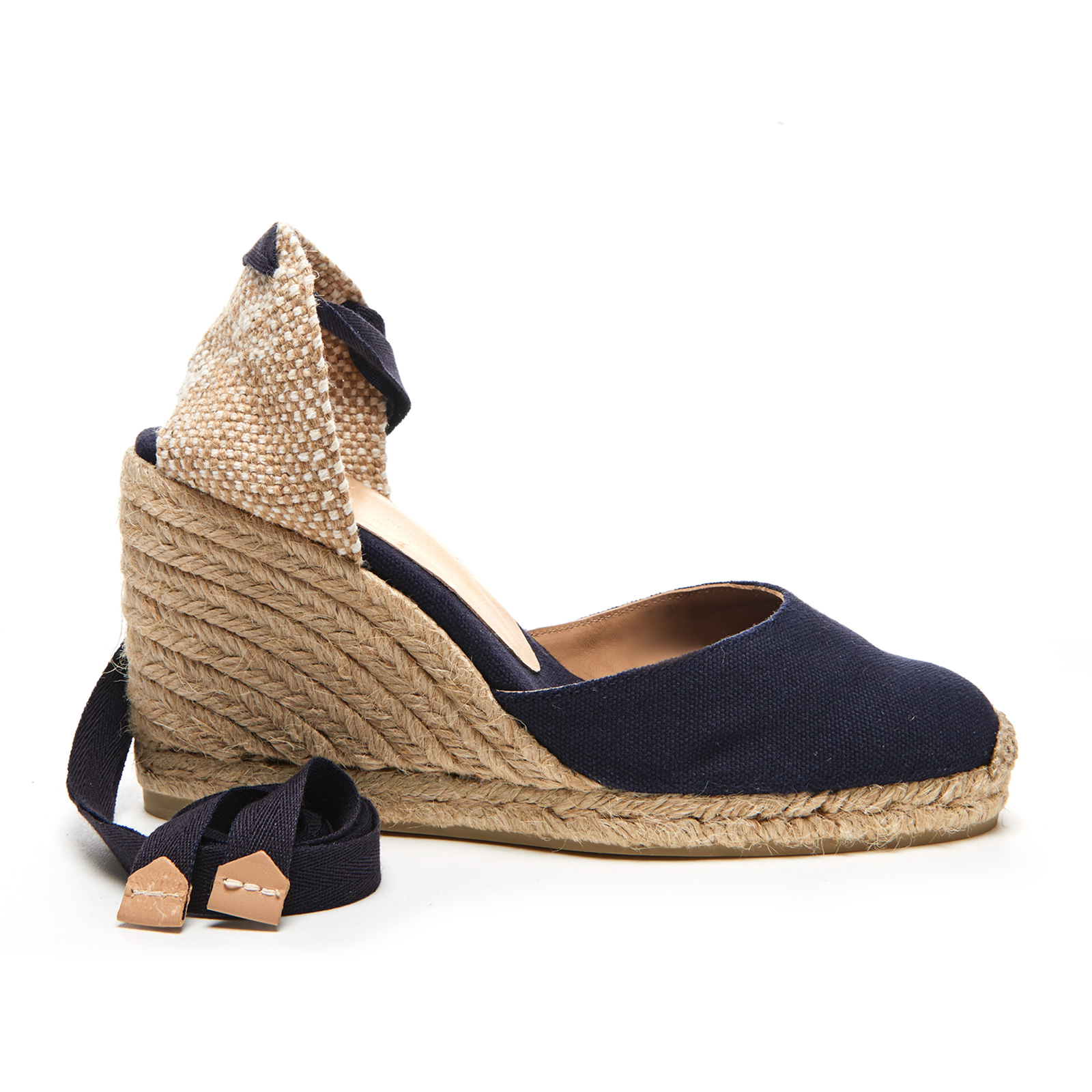 2df95bae53ff Castaner Women s Carina Wedged Espadille Sandals - Marino - Free UK  Delivery over £50