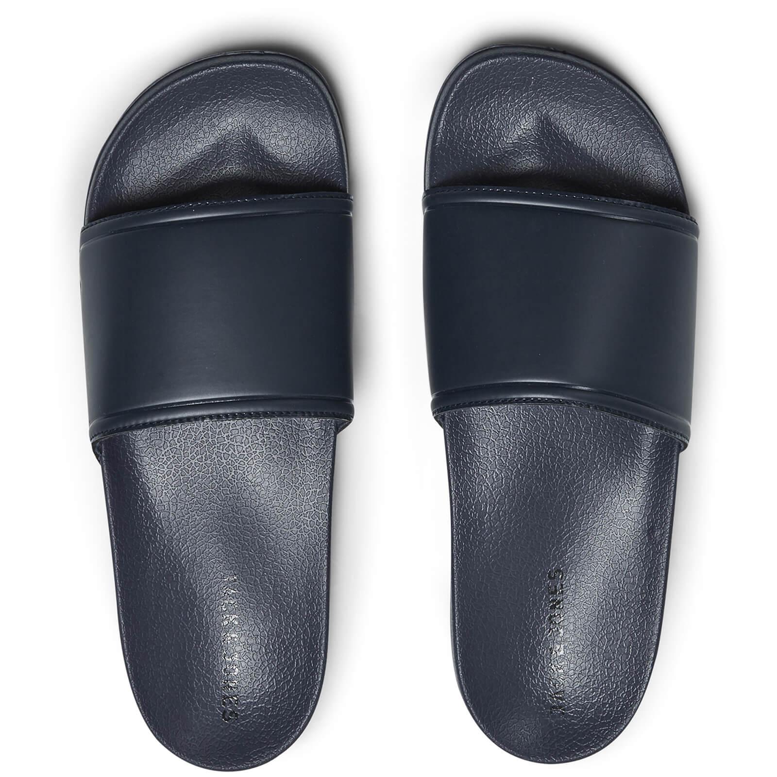 fe199bd46160 Jack   Jones Men s Slider Sandals - Navy Blazer Mens Footwear