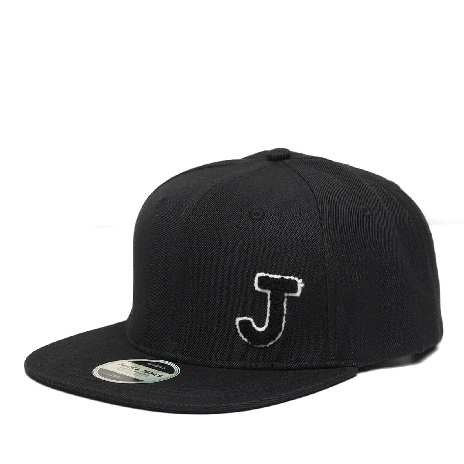 310e21a50 Jack & Jones Men's Terry Snapback Cap - Black Clothing | Zavvi