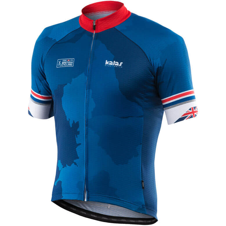 Kalas Team GB Inspired Short Sleeve Jersey