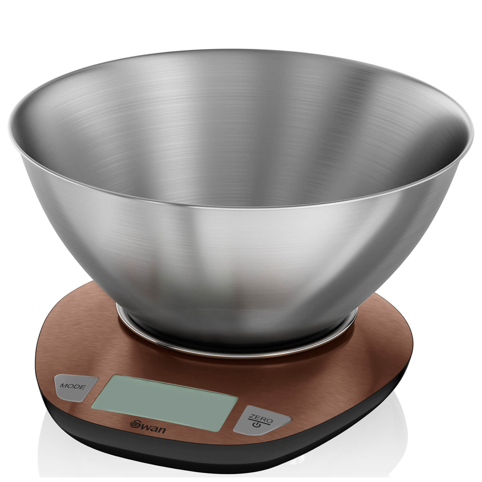Swan Electronic Kitchen Scale with Bowl - Copper